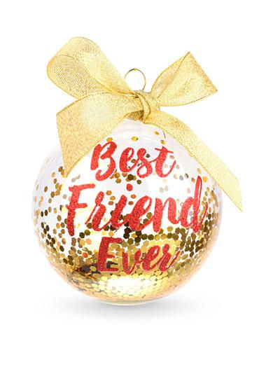 Home Accents® 3.75-in. 'Best Friend Ever' Boxed Ornament