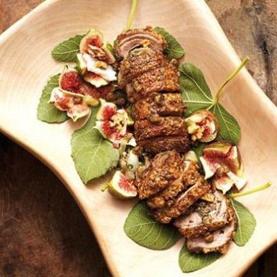Taste Mag | Stuffed lamb loin fillet with parmesan and caper crust @ https://taste.co.za/recipes/stuffed-lamb-loin-fillet-with-parmesan-and-caper-crust/