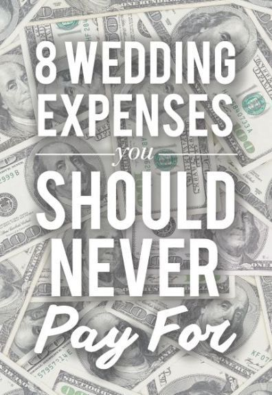 As you embark on your wedding planning, you want to be aware of certain conventional wedding expenses that you should never pay for. It's a well known fact that weddings are getting to be very expensive. With the average cost of a wedding now approaching $30,000 even so-called budget weddings can be expensive. So today we offer [...]