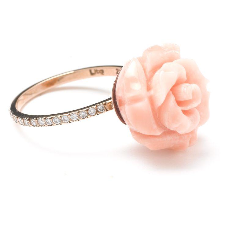 "WHITEbIRD | Bague ""Rose"" - Lito"