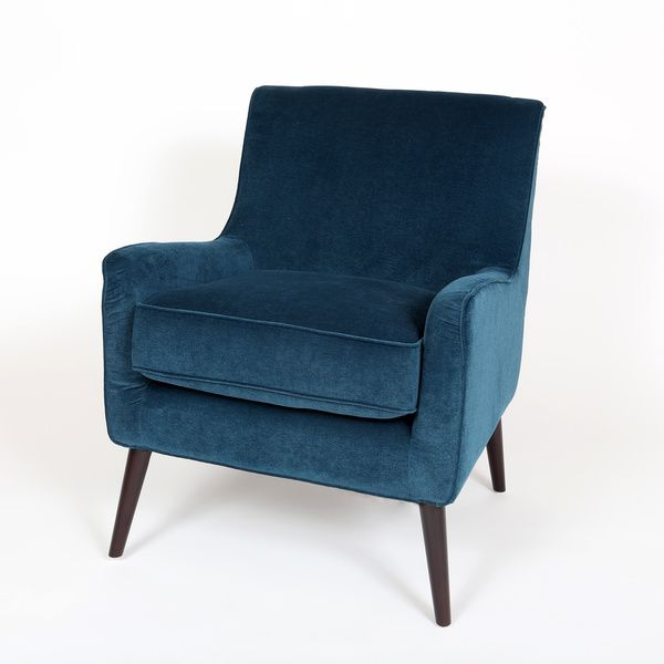 "$314.99  Dimensions: 26""L x 32""W x 32""H Kristina Ocean Blue Accent Chair"