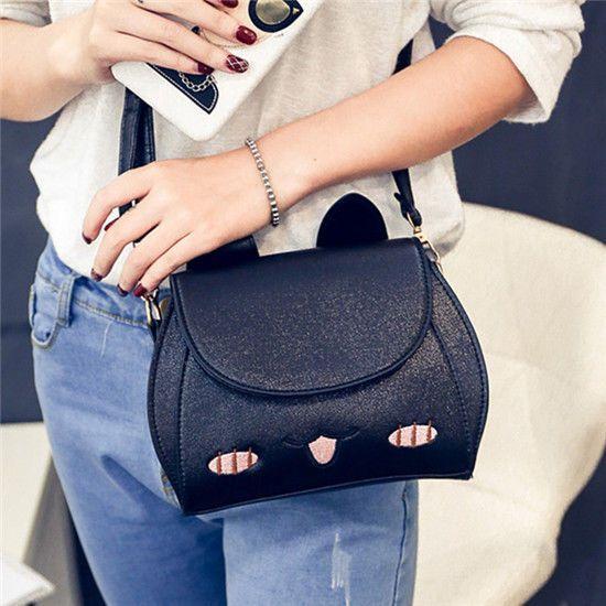 2017 Leisure Mini Backpack Women Bag Leather Cute Animal Backpacks Ears Sweet