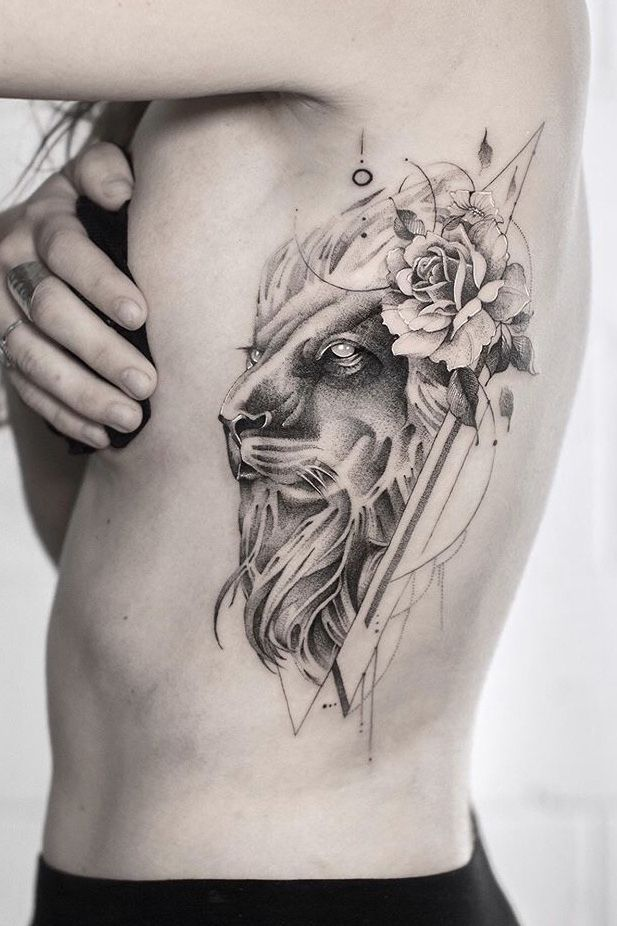 10+ Realistic Tattoo Inspiration Ideas | Black and Grey | Bein Kemen in 2020 | Realistic tattoo sleeve, Rib tattoos for women, Cat portrait tattoos