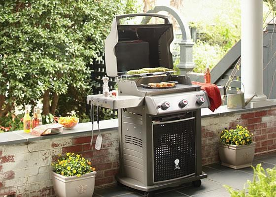 Love pizza? You'll love it even more when it's cooked on Weber's new Spirit Grill  for a hint of smoky flavor. Or infuse a roasted chicken with steam to keep it moist and tender. Weber gives you great new ways to grill.