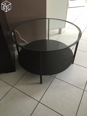 Table basse ronde IKEA