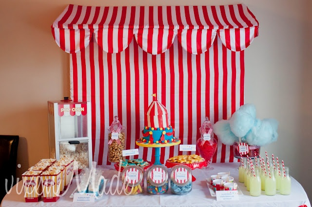 Circus party: free printables