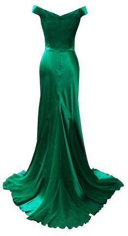 DINA BAR-EL - Gemma Emerald @girlmeetsdress