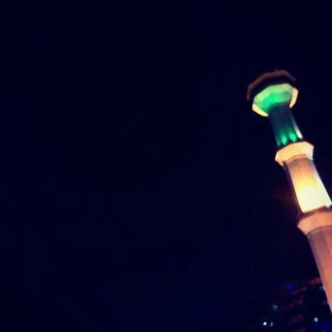 Night and sky #Alunalunbandung
