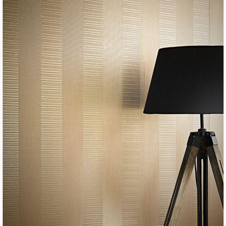 Best 25 striped wallpaper ideas on pinterest stripe for Striped vinyl wallpaper