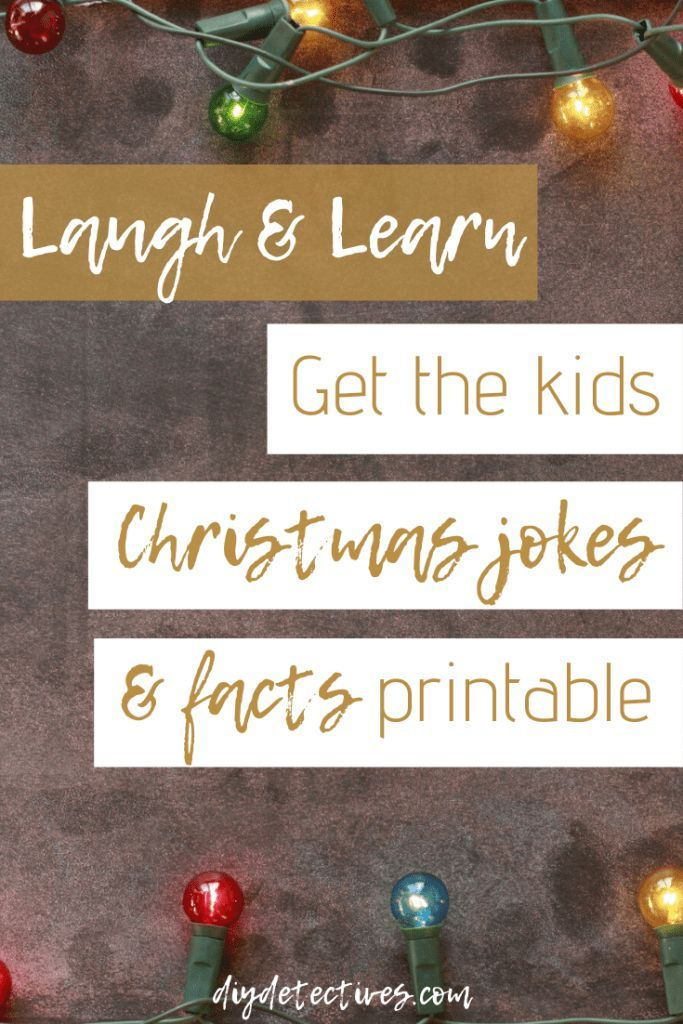 Laugh, Learn, and Get these Kids Christmas Jokes and Facts