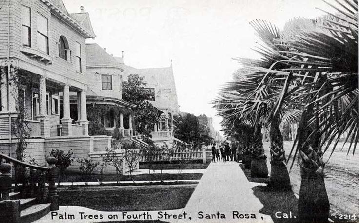Fourth Street Historic Santa Rosa Pinterest Street