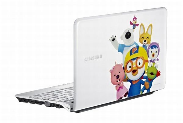Netbook that features 'Pororo-The little penguin'