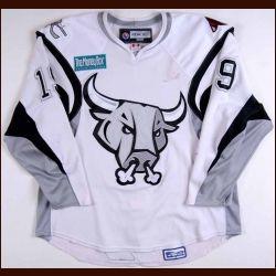 SAN ANTONIO RAMPAGE JERSEYS   2007-08 Matt Murley San Antonio Rampage Game Worn Jersey - AHL Letter ...