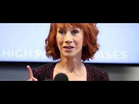 Kathy Griffin breaks down says Donald Trump broke me