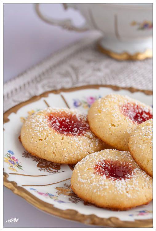 Гусарское печенье (Husarenkrapfen)