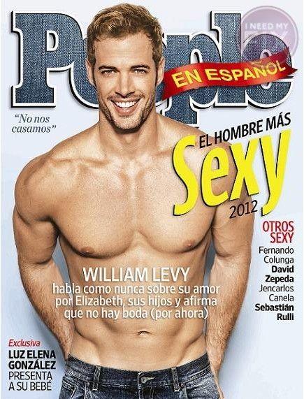 """FOTO: William Levy es nombrado """"El hombre más sexy del 2012″"""