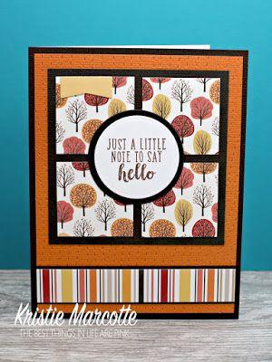Carta Bellau0027s Hello Fall 6x6 Cards