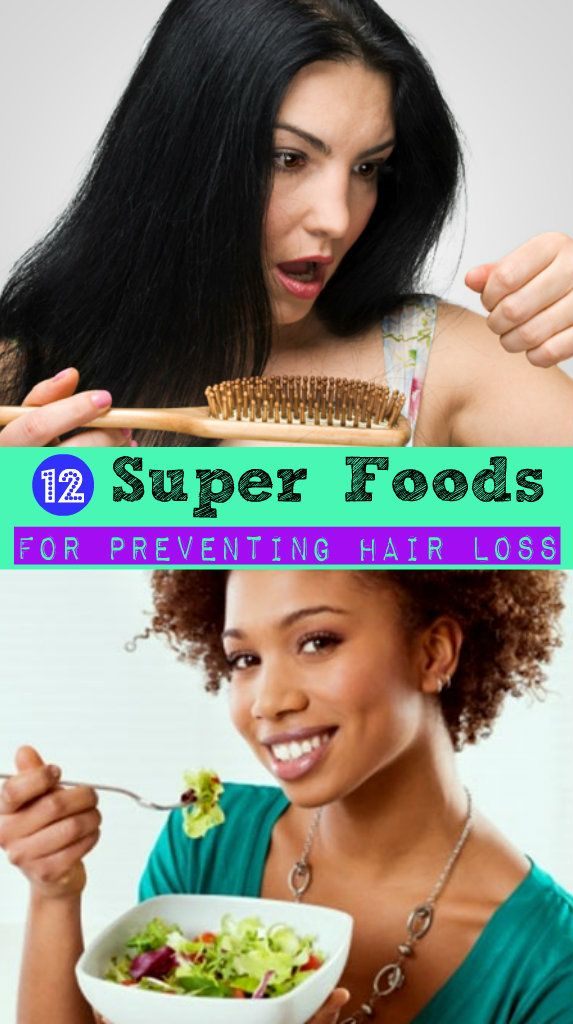 12 Super Foods for Preventing Hair Loss #preventinghairfall