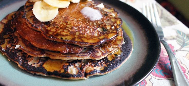 Looking for an easy, fool-proof vegan breakfast? This short stack of banana bread pancakes should do the trick.