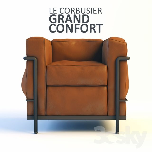 Le Corbusier Grand Confort LC2. International StyleLe  CorbusierArmchairsBenchesFurniture