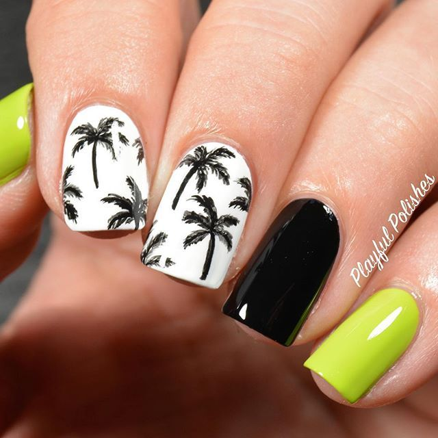 Diseño de uñas verano #nail #nails #nailart