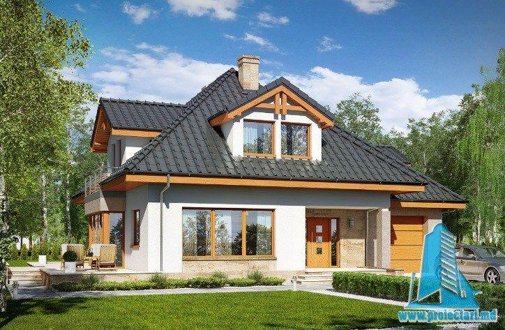 Proiect de casa cu parter, mansarda si garaj pentru un automobil-100642 http://www.proiectari.md/property/proiect-de-casa-cu-parter-mansarda-si-garaj-pentru-un-automobil-100642/