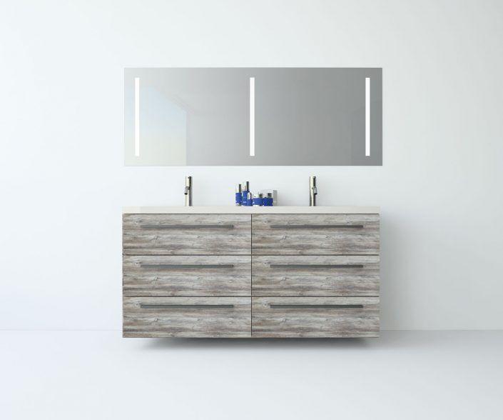 Muebles de baño, propuestas de composiciones para conseguir amplitud en el almacenaje: cajones, puertas correderas, abatibles, huecos vistos, etc. unibaño-compactos-almacenaje-26