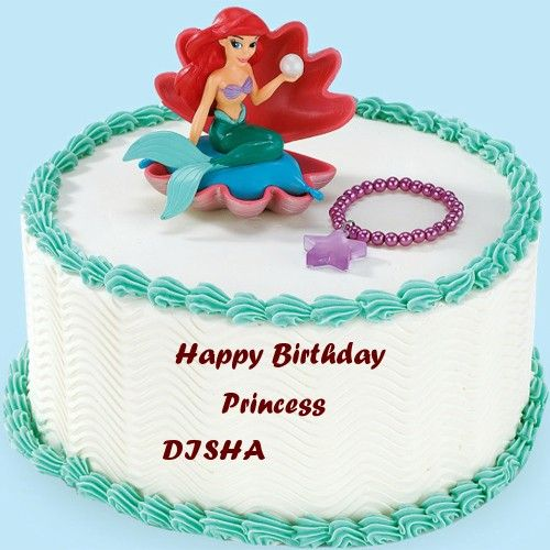 Write Princess Girls Name On Birthday Wishes Beautiful Cakes Whatsapp DP Profile Pictures Download