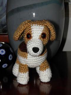 Diretório do blog do Crochet: Cão – Crochet Pattern   – amigurumi