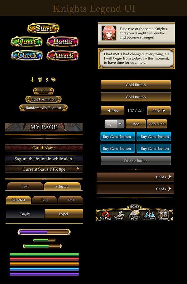Knight Legends on Behance
