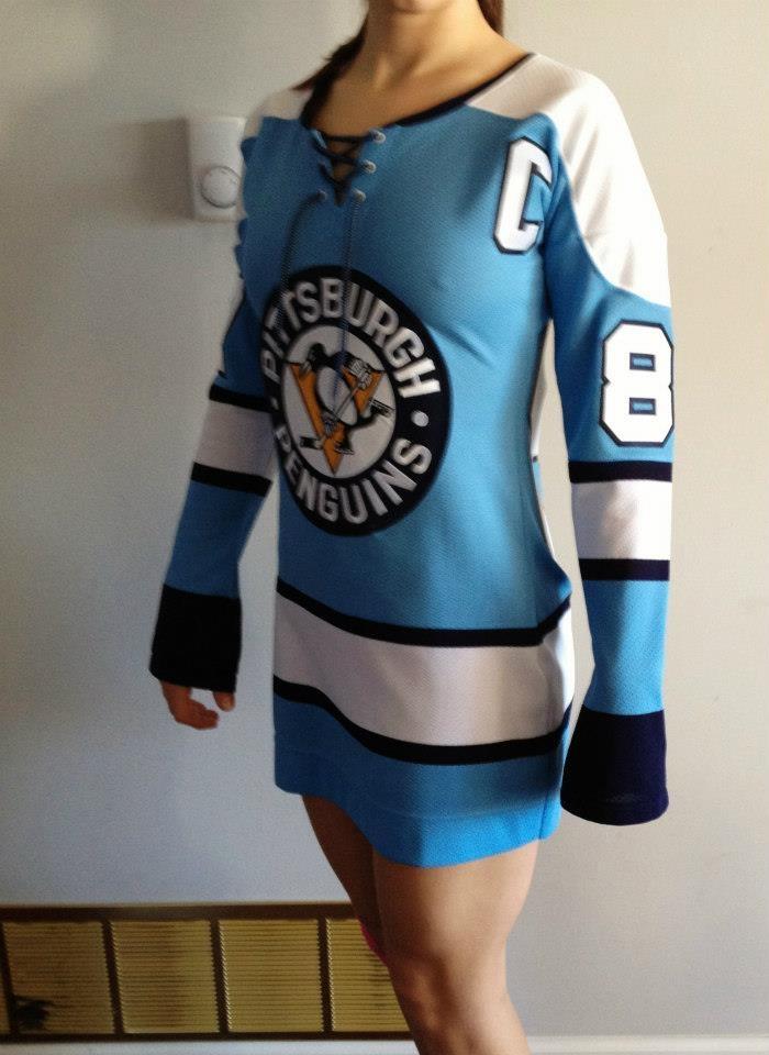 Pittsburgh Penguins jersey Dress (Alternative Colors)