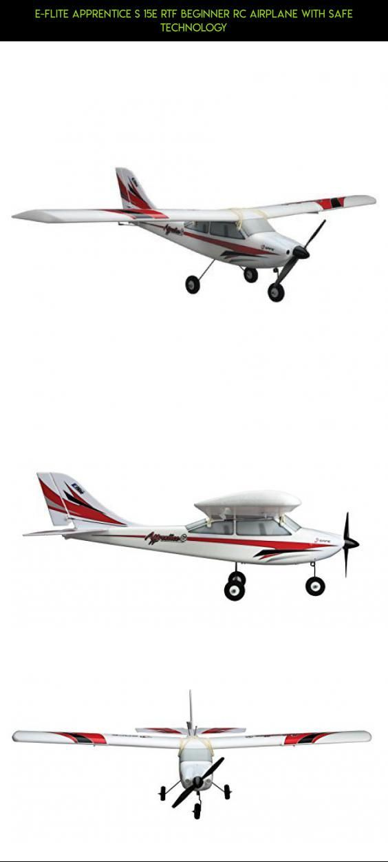 E-flite Apprentice S 15e RTF Beginner RC Airplane with Safe