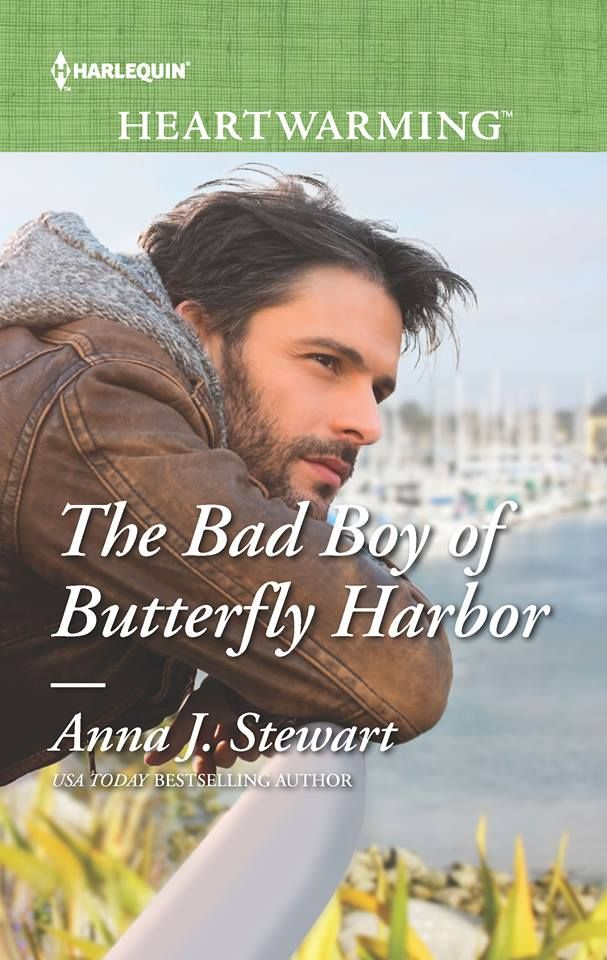 Mythical Books: Review The Bad Boy of Butterfly Harbor (Butterfly Harbor #1) by Anna J. Stewart