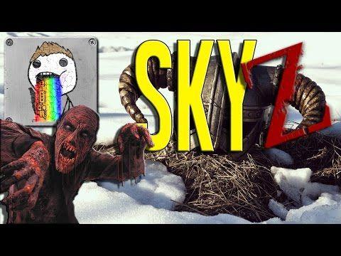 SkyZ | THE BARROW - Ep. 16 - Season 8 - Skyrim Zombie Survival - YouTube