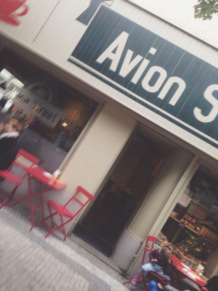 Avion Street Café in Praha, Hlavní město Praha