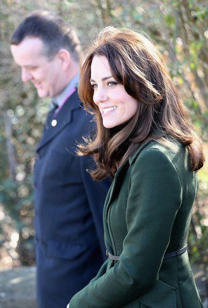 Catherine, Duchess Of Cambridge arrives for her visit to St Catherine's Primary School in Edinburgh on February 24, 2016 in Edinburgh, Scotland.