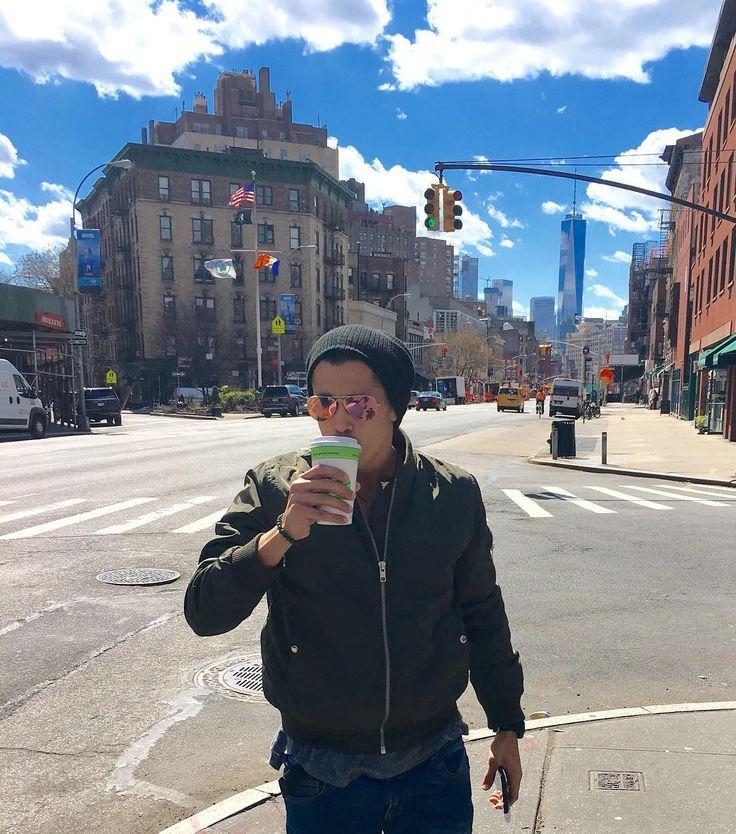"""☕️ nyc""  michael instagram new york skyline"