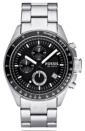 Fossil Chronograph Tachymeter Watch, 44mm available at #Nordstrom
