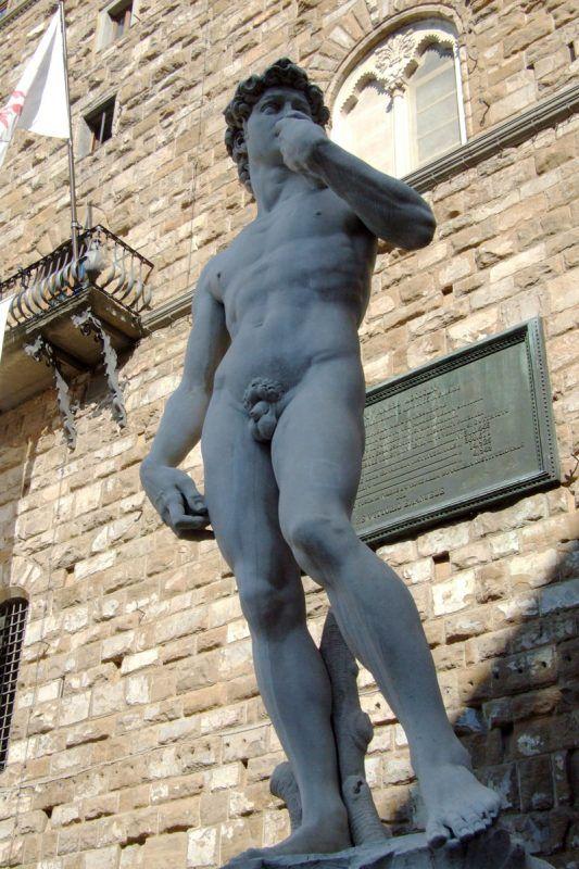 Dávid, Firenze