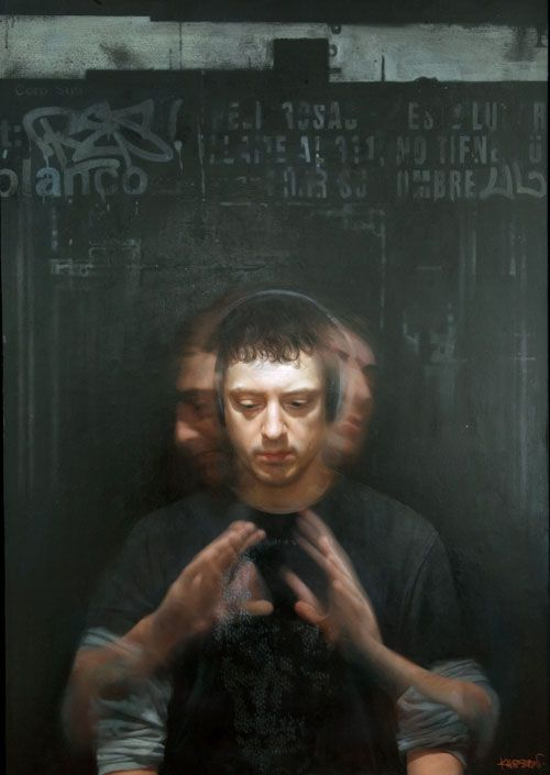 David Kassan - Self Portrait in Motion