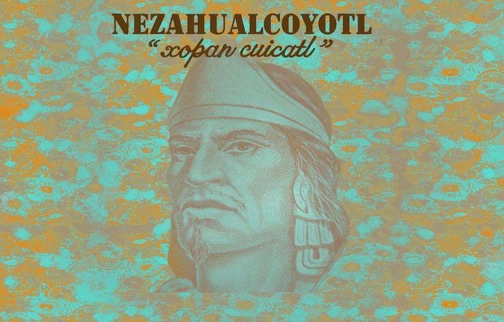 "Nezahualcóyotl  - ""Xopan Cuicatl"" - Nahuatl Poetry - Artwork by Rita Ro (youtube Trece Lunas)"