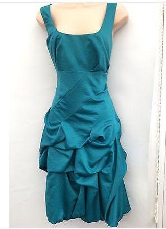 MONSOON CARMEL teal green dress