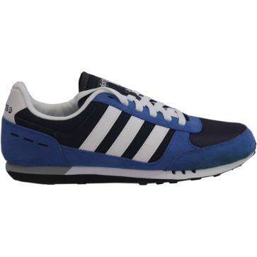Adidas Neo City racer Référence : F38451 Couleur Bleu/Blanc Genre Homme Matière Nylon #Adidas #NeoCityRacer #Basketpascher