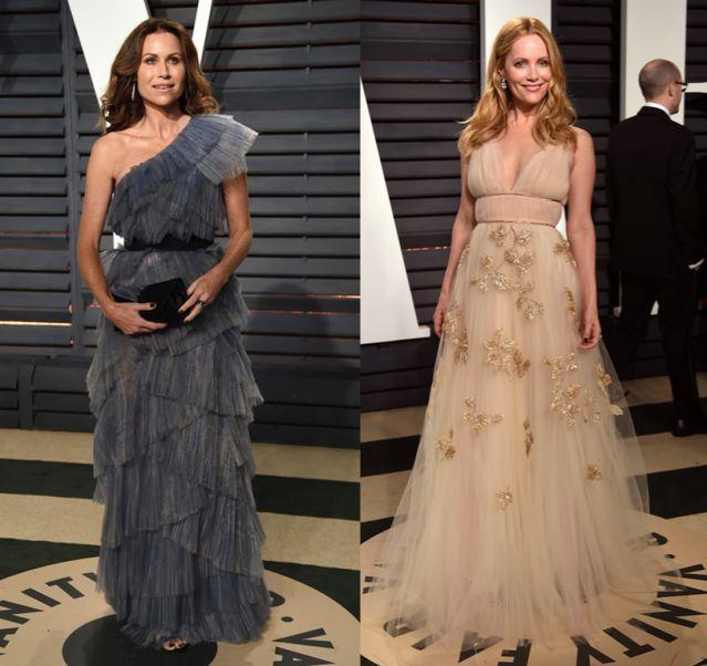 Oscarsklänningarna du inte såg – från den glittrande efterfesten!