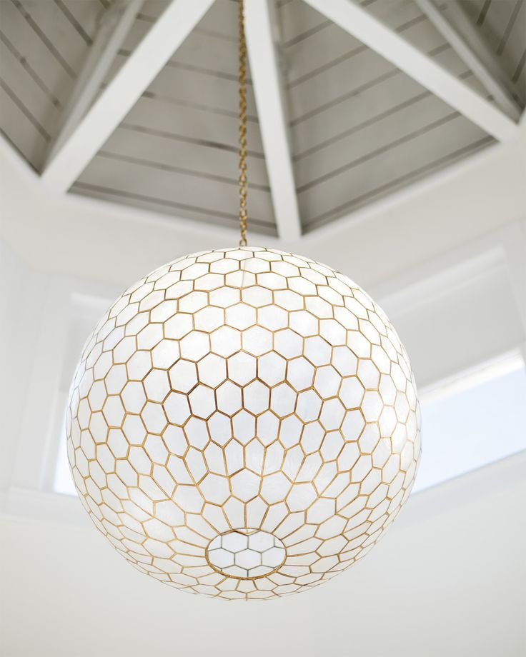 316 best capiz shell lighting images on Pinterest ...