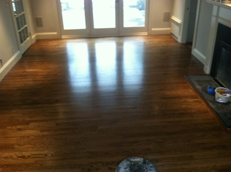 Dark Walnut Stain With Semi Gloss Polyurethane Www