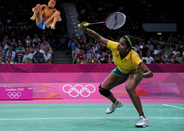 5. | 20 Photos Of Olympic Badminton Players Swatting Divers Like They're Flies