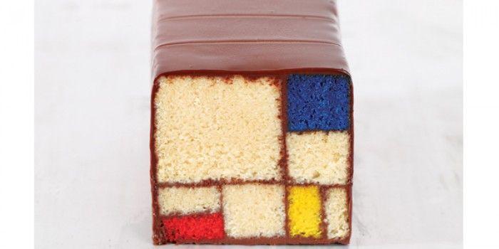 Mondrian Cake | A-Z Recipes | MiNDFOOD