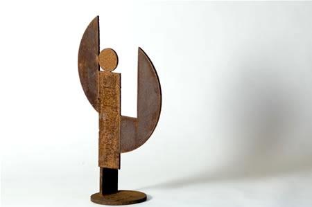Howard Smith - 10. (HS010) Mexi, 2002, welded iron, h. 64 cm, w. 34 cm