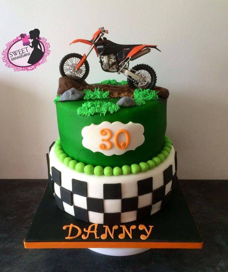 10 best Cakes images on Pinterest Motocross cake Motocross and